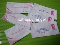 Wholesale 2016 NEW Fashion FDA CE Urine Pregnancy Test Strips Urine Ovulation Test Strips By DHL