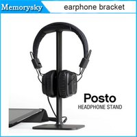 Wholesale High quality Universal Headphone Stand Display Headset Hanger Earphone Holder Headphone Stand Headphone Display Rack dhl shipping