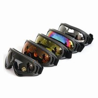 Wholesale 2016 High Quality Outdoor Windproof Glasses Ski Goggles Dustproof Snow Glasses Men Motocross Riot Control Goggles Downhill