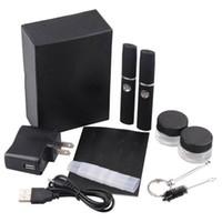 Wholesale Dry Herb Micro Vaporizer G mah Dry Herbal Vaporizer Wax Pen kits Action Bronson elecronic cigarette
