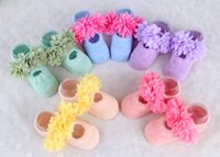 baby foot cover - kids infant baby flower socks hot princess style Baby Girl Socks Shoes Boots Slipper years Babys Shoe Sock kids Foot Cover