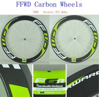 bicycles folding sale - 2016 Top Sale FFWD Carbon Wheels mm Bicycle Rim k Carbon Bike Wheel Set With Novatec Hubs Full Fiber Wheelset