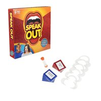 Wholesale New Hot Speak Out Game KTV party game cards for party Christmas gift newest best selling toy dhl