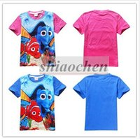 baby clown fish - Kids Finding Dory T Shirts Nemo Dory Shirts Girl Finding Dory Tops Baby Clown Fish Tees Nemo Dory Short Sleeve Shirt Baby Clothing B294