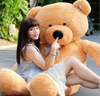 Wholesale 2016 new hot sale cm giant teddy bear doll lover s gift birthday gift lover gift