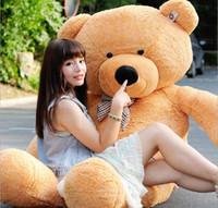 al por mayor osos de peluche-2016 nuevo amante caliente del regalo del regalo de cumpleaños del regalo del amante de la muñeca del oso de peluche de la venta el 100cm gigante