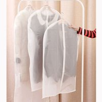 Wholesale S M L Size Fad Clothes Hanging Garment Suit Coat Dust Cover Protector Wardrobe Storage Bag