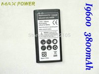 Wholesale Galaxy S5 I9600 battery mAh EB BG900BCB WITH DHL FREESHIPPING