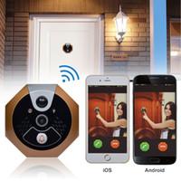 Wholesale Wifi Doorbell Video Door Phone Smart Remote Visual IR Night Vision Security Video Door Intercom For IOS Android F35