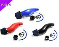 Wholesale Motor Parts Accessories Black Blue Red Plastic Air Intakes Pipe Air Filter For EG EK Colors Red Blue Black in stocked ready to ship