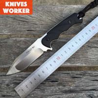 ak rubber - Custom Full Tang Fox Tactical Survival FKMD Hunting Bowie Combat Knife G10 Handle D2 Blade Camping Outdoor Knives Tools Kydex Gear Sports AK
