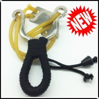 band ti - New Style Portable Slingshot with Titanium Slingshot Alloy Ti Material Hunting Use Rubber Band Included