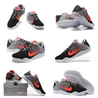 baseball women - With shoes Box High Quality Kobe XI Bryant Tinker Hatfield Muse Pack Grey Red Black Men Basketball Sport Trainers Shoes