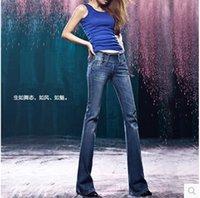 bell lifts - 2016 vintage bell bottom high waist slim butt lifting boot cut wide leg flare women s jeans