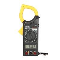 Wholesale MASTECH Digital Clamp Meter Ammeter Voltmeter Ohmmeter Insulation w Diode Frequency Tester Ampere Amperimetro Megohmmeter