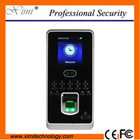 Wholesale Hot selling new firmware face fingerprint access control time attendance inch color display TCP IP biometric doorlock device