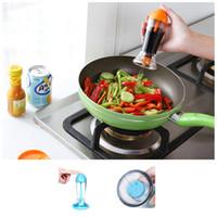Wholesale Atomizer spray vinegar bottles kitchen accessories Tools new cooking barbecue mist spray pump bottle storage