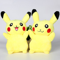 best stuffed animals for kids - 2016 Pikachu Plush dolls cm inch Poke plush toys cartoon Stuffed animals soft toys best Gifts For Kids