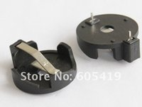 Wholesale 1000pcs CR2032 button battery holders DIP hold CR2032 cells BS CR2032