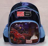 Wholesale High Quality Fashion Big Hero Baymax Children s School Bag Rucksack Cartoon School Backpack G301
