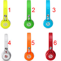 Wholesale 2016 Used Beats MIXR Headphones On ear Noise Cancel Headphones Headset Refurbished with seal retail box