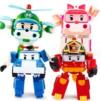 Wholesale Hot Sale Set Robocar Poli Transformation Robot Car Toy Poli Toys For Children Gifts