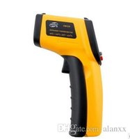 Wholesale New GM320 Non Contact Thermometer IR Infrared Digital Temperature Control Meter Gun Thermometers