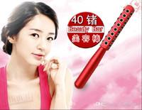 20pcs KAKUSAN 30 40 48 Germanio Pietre Giappone Semiconductor Massager del fronte rullo facciale di bellezza Riduzione delle rughe Beauty Bar DHL Fr