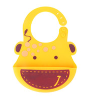 baby bib with pocket - Bibs Burp Tools Baby Feeding Soft Silicone Baby Bibs Waterproof Bibs with Food Catcher Pocket For Girls Boys Easily Wipes Clean and Dries