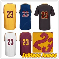 basketball short sleeve - With Logo name Stitched Swingman SW JAMES Basketball Jersey Cheap Retro Irving Hot Throwback Cleveland Gift Promotion Home Road