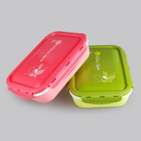 adult bento box - YOOYEE Brand Food Grade Microwave Oven Portion Control Container lunch Bento Boxes for kids adult