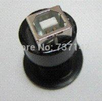 b eyewear - 22mm mounting diameter metal USB2 Female A to Female B with black surface female security female eyewear
