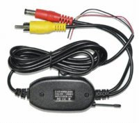 Cheap Wireless Parking Car B ackup RCA Video 2.4 Ghz transmitter Receiver kit for Car Wireless Rear Camera Reverse Car DVD GPS Monitor