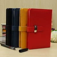 Wholesale Classic Design Filofax vintage Identity Personal Size Personal Pocket Organiser Planner Leather Spiral Diary Notebook COLORS