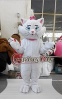aristocats characters - Aristocats Marie Mascot Costume Adult Cartoon Character Animal Mascot Suit Custom Made D0714