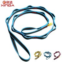 Wholesale XINDA Outdoor Climbing Rope Climbing Auxiliary Rope Downhill Aerial Yoga Hammock Daisy Ring Sling Equipment Wear Ring