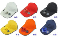 advertising toy - Adult male and female children hat with fan Solar fan cap hat men and women sun hat baseball cap hat factory direct solar advertising