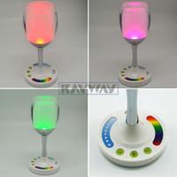 Wholesale 5050 RGB LED Lamp W V RGBW Led Bulb Dimmable Lighting Cup Shape USB Led Light SMD Mi Light Spotlight