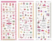 best love stories - 2016 new Export JAPAN Quality cute beauty best NEWEST pieces love story water nail art stickers decal popular
