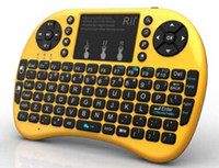 background hands - Original Rii i8 remoter with background light G wireless mini air mouse keyboard for universal computer PC and TV box