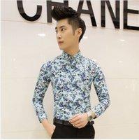 big beautiful singles - In The Latest Fashion Trend In Men s Exclusive New Broken Beautiful Big Yards Shirt Men Leisure Long sleeved Shirts