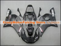 Wholesale 3 Free gifts New ABS Fairing Kits Fitment For YAMAHA YZF R6 YZF600 bodywork set black USA
