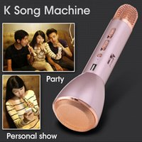 Wholesale K088 Magic Karaoke Microfone K Song Portable Wireless Bluetooth Microphone With Bluetooth Speaker Power Bank Outdoor KTV