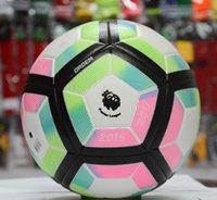 Wholesale 2016 new premiership la liga non slip PU leather football