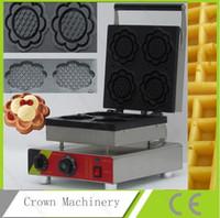 Wholesale 110v v Electric Commercial Ice Cream Waffle Maker Iron Machine Baker