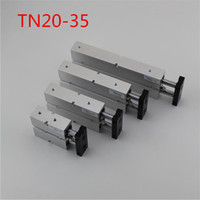 Wholesale TN20x35 mm x mm Double Rod Aluminum Alloy Pneumatic Air Cylinder