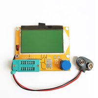 Wholesale New LCR T4 Resistance Capacitor Diode SCR Transistor ESR Meter Tester V LCD High Quality