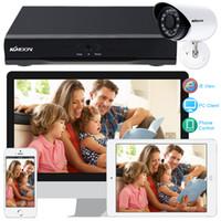 Wholesale KKMOON Full H D1 CH HDMI CCTV DVR TB HDD Kit TVL Outdoor Security Camera System Onvif CH DVR Recorder IR CUT Camera