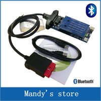 Cheap Wholesale-New 2016.R1 Support More Cars Model New vci Full cdp with bluetooth SCANNER TCS cdp pro plus with LED 3 IN1 + Nec Relay V8.0 PCB