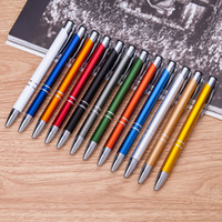 angels pen - 0 mm metal ballpoint pen for promotion click writing pen for office